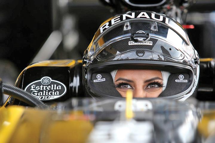 saudita 4 Prima saudita la volanul unui bolid de Formula 1