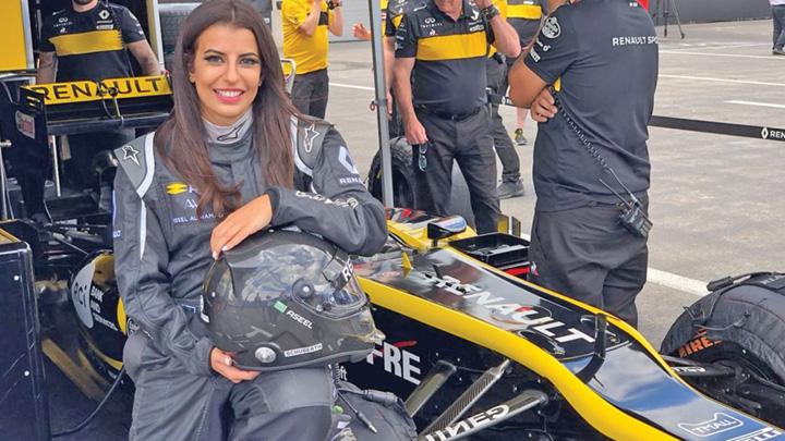 saudita 5 Prima saudita la volanul unui bolid de Formula 1