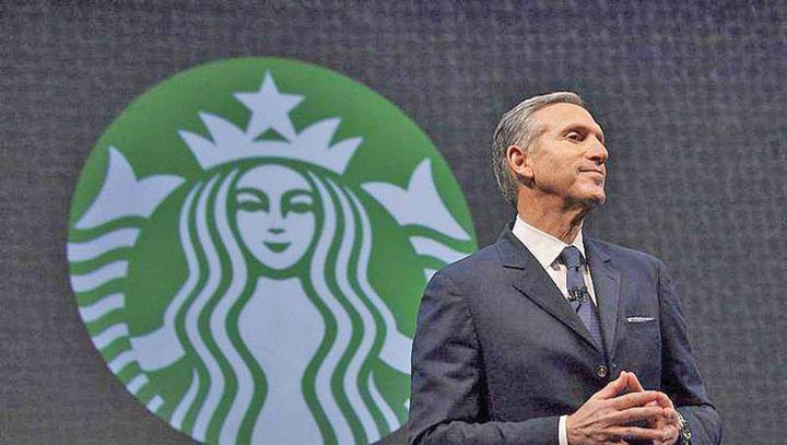 starbucks Patronul Starbucks pleaca si tinteste Casa Alba
