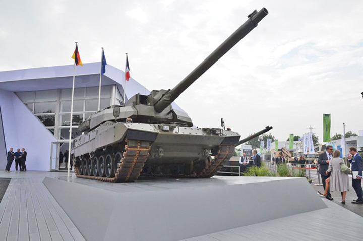 tanc1 Noul tanc franco german