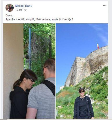 turista 468x500 Laura Codruta Kovesi, drumetie de week end la Cetatea Devei