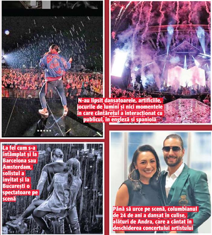 14 15 Romanii au dansat pe rupte, in ploaie, la concertul lui Maluma!