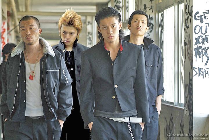 Gangster Liderii Yakuza, prinsi la furat pepeni