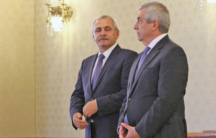 Liviu Dragnea si Calin Popescu Tariceanu Tariceanu il lasa pe Dragnea sa si rupa gatul