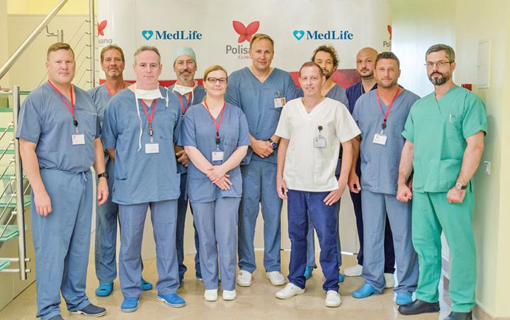 Polisano MedLife 3 Elita mondiala a chirurgiei cardiovasculare, la cursuri in Romania
