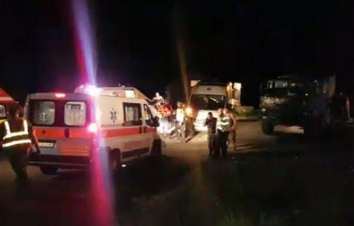 accident 720x460 Un militar a murit, alti trei au fost raniti intr un accident langa Scoala de Aviatie de la Boboc