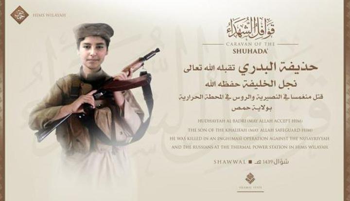 baghdadi fiu Fiului sefului ISIS, ucis de rusi