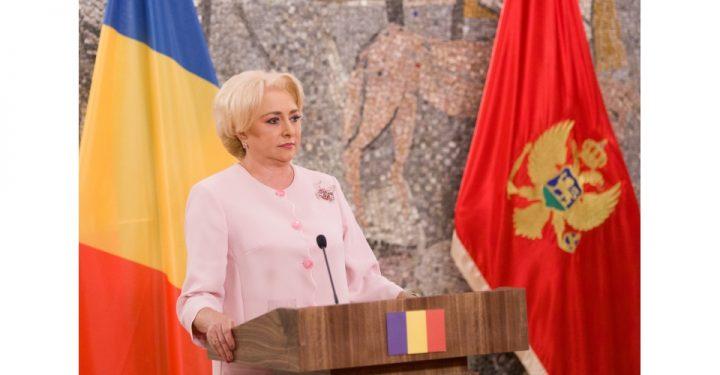 Reactii dupa ce, aflata in Muntenegru, Dancila a confundat Podgorita cu Pristina (VIDEO)