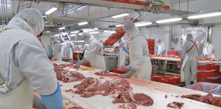 carne 1 Americanii isi lasa degetele in carnea procesata