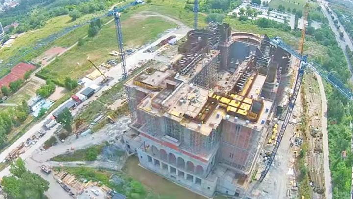 catedrala Catedrala Neamului mai inghite 10 milioane de lei de la Primarie