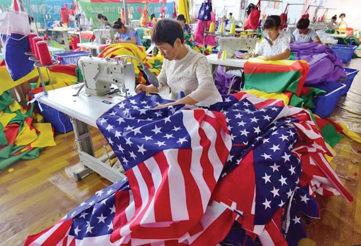 china 2 Steaguri americane made in China
