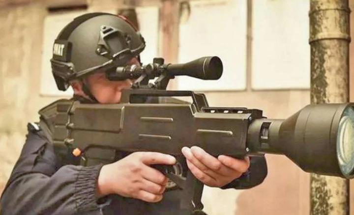 china Pusca laser care ucide de la un kilometru
