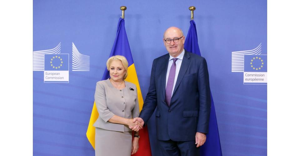 danc Dancila, intalniri cu oficiali europeni la Bruxelles