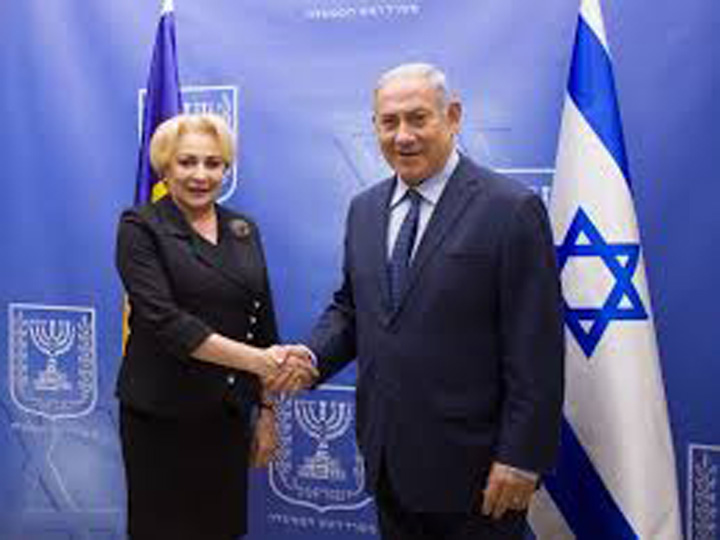dancila netanyahu Netanyahu amana placerea de a o revedea pe Viorica noastra