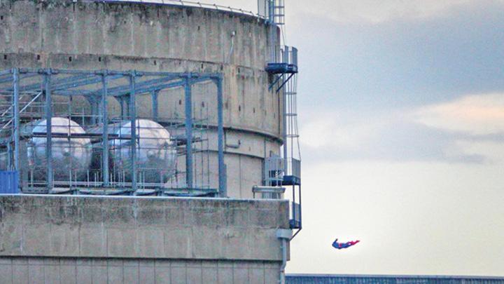 drona 1 Centrala nucleara, atacata cu drona superman