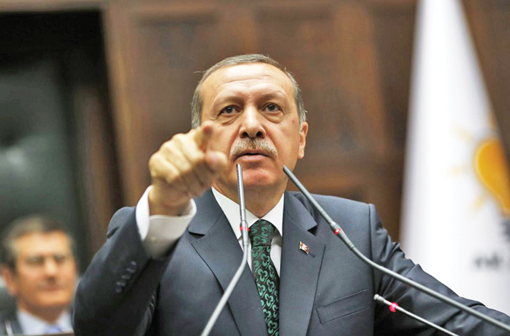 erdogan 1 Erdogan: Spiritul lui Hitler renaste in Israel