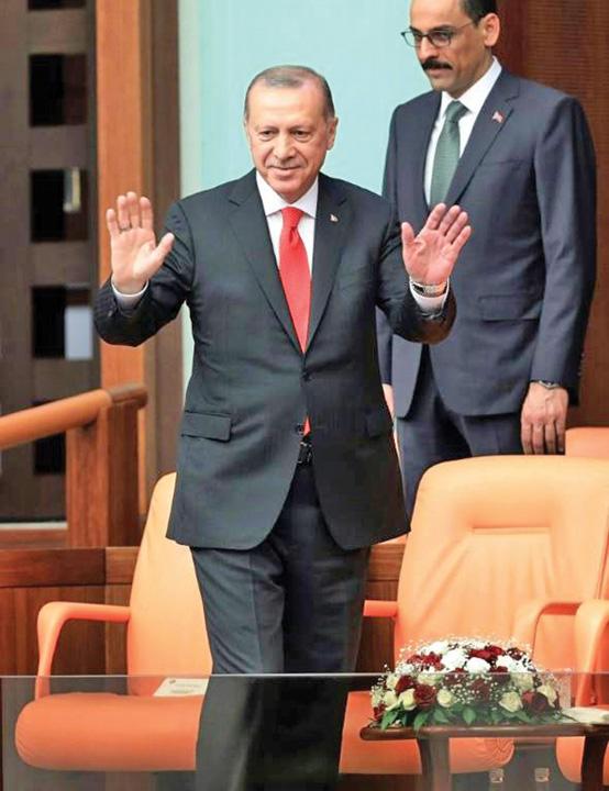 erdogan mare Erdogan Magnificul incepe un nou mandat
