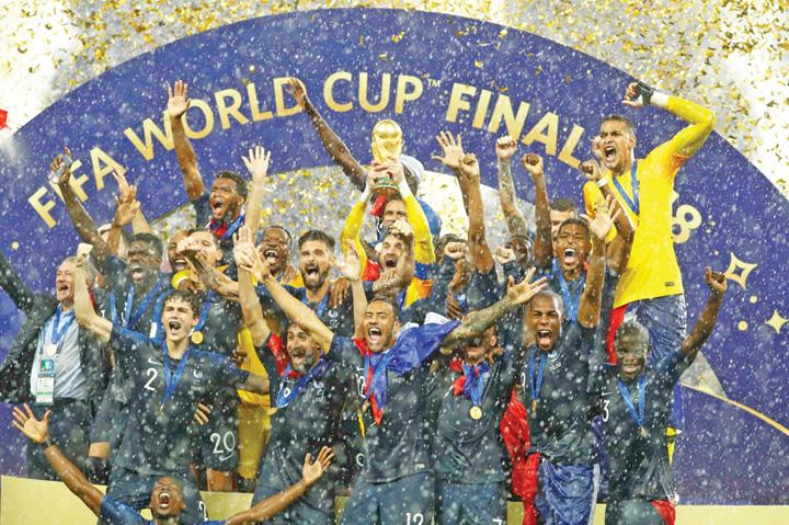 franta 3 Globalizarea a invins! Franta, campioana tuturor