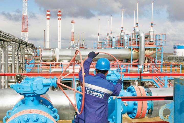 gazprom Vrea, nu vrea, Europa arde gaz rusesc