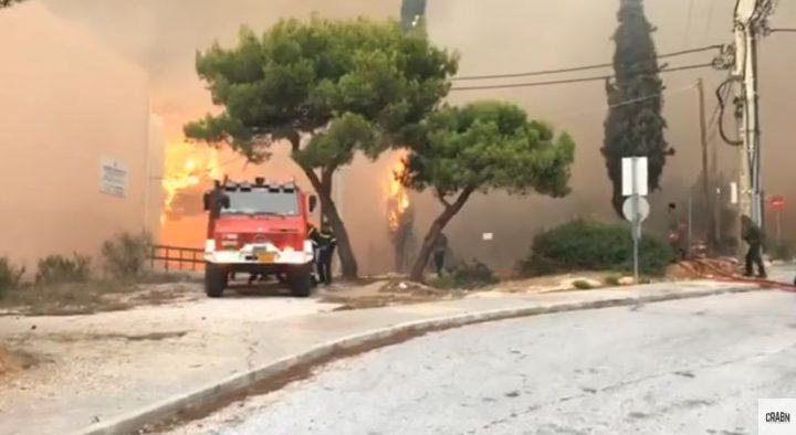 grec 720x394 Doliu in Grecia. Imagini dramatice cu incendiile devastatoare (VIDEO)
