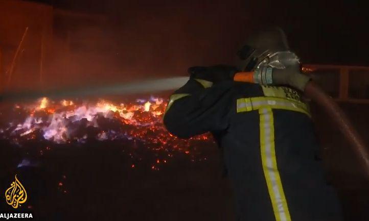 incend 1 Informare de calatorie pentru romani, pe fondul incendiilor din Grecia si a inrautatirii vremii