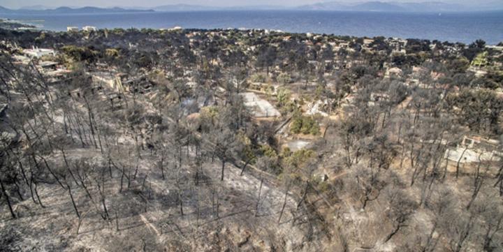 incendiu Bilant negru in Grecia