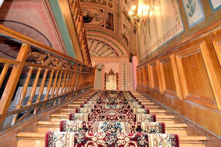 interior palat 1 720x480 Ghica Tei, palatul primului domn de după fanarioți (II)