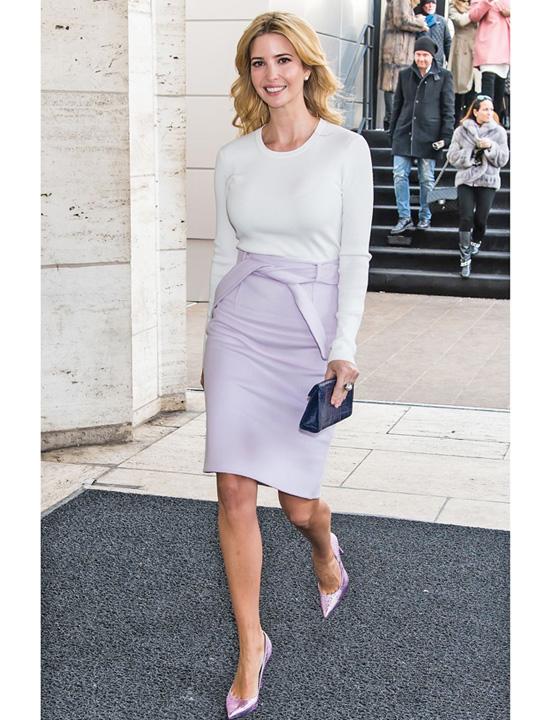 ivanka Fata lui Trump se leapada de moda