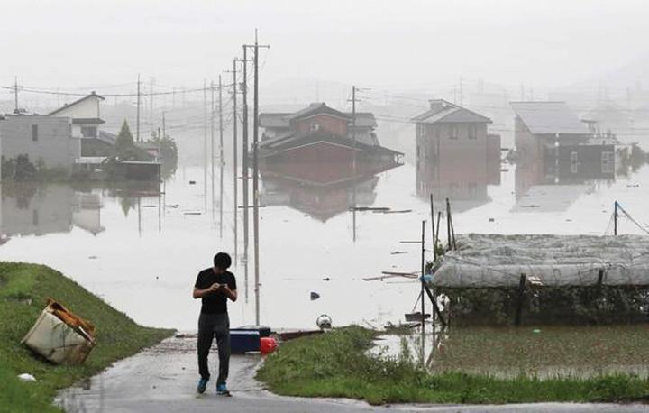 japonia 1 Alerta mondiala: vremea face sute de victime