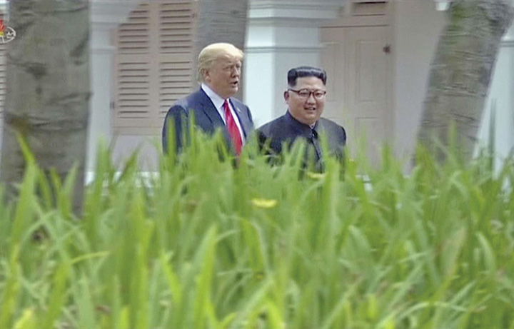 kijm si trump S a rupt lantul de iubire Trump Kim