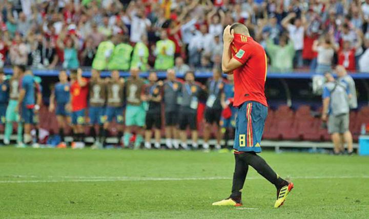 koke Putin a invins Spania la ruleta ruseasca