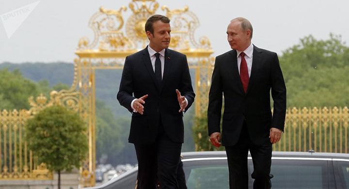 macron putin Macron si Putin, in finala