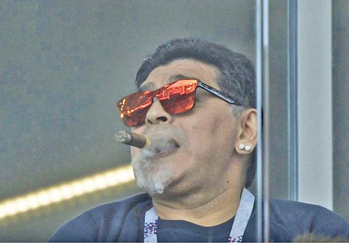 maradona 1 FIFA ii raspunde lui Maradona