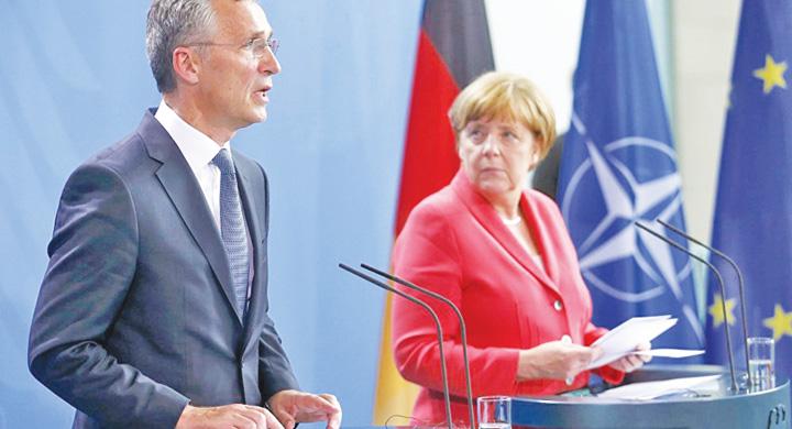 merkel 2 Zilele NATO sunt numarate