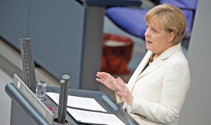 merkel 3 Vrea, nu vrea, Europa arde gaz rusesc
