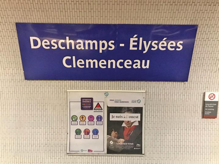 metrou 21 1 Metroul parizian redenumeste statiile