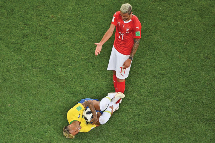neymar2 Neymar recunoaste ca e circar