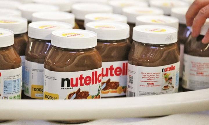 nutella Nutella cauta degustatori