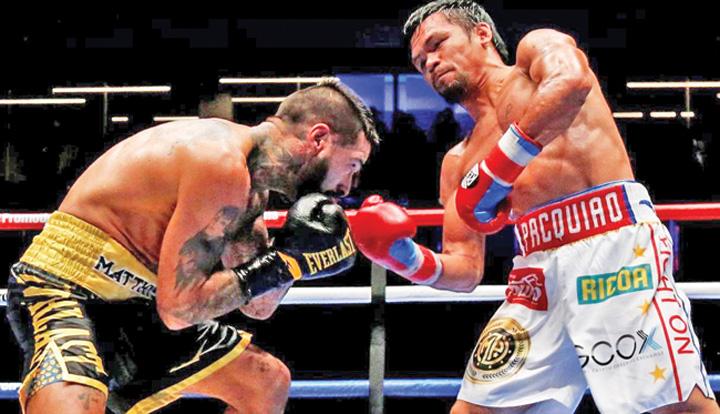 pacquaio Manny Pacquaio si a luat inapoi titlul mondial