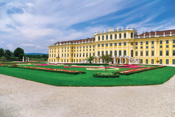 palat Kovesi la Schonbrunn!