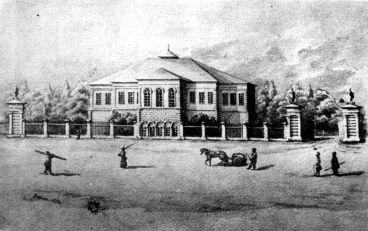 palatul ghica tei epoca 720x453 Ghica Tei, palatul primului domn de după fanarioți (I)
