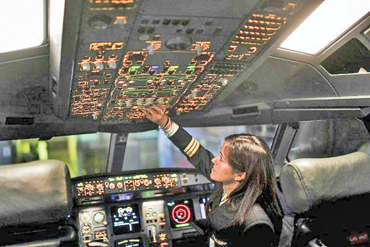piloti Penurie mondiala de piloti de linie