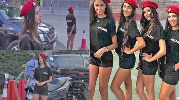 """politie """"Sexy politiste"""" intr o tara musulmana"""