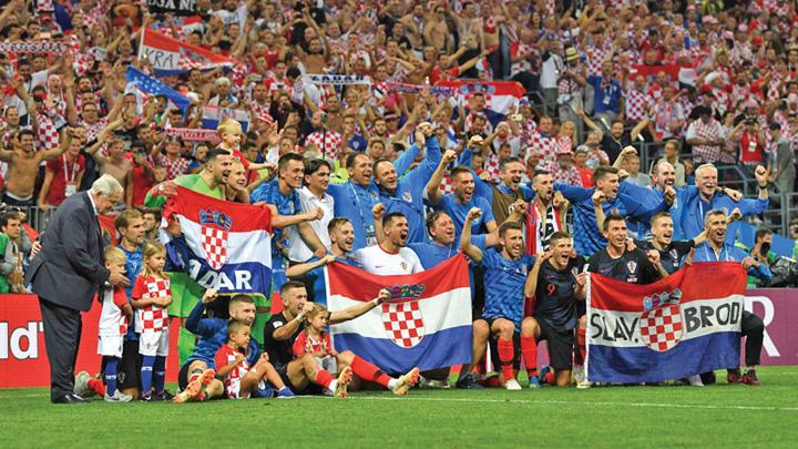 """poza mare croatia Croatia, un David al """"mondialului"""" din Rusia"""