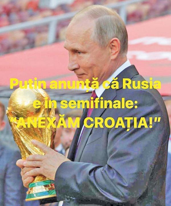 "putin gluma Putin: ""Ati jucat frumos"""