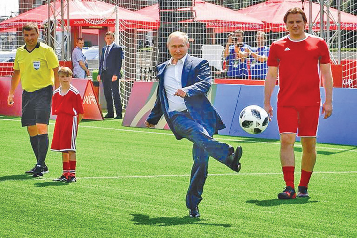 putin Putin castiga Mondialul dar ii pierde pe rusi