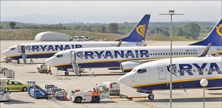ryanair Ryanair anuleaza 600 de zboruri in Europa