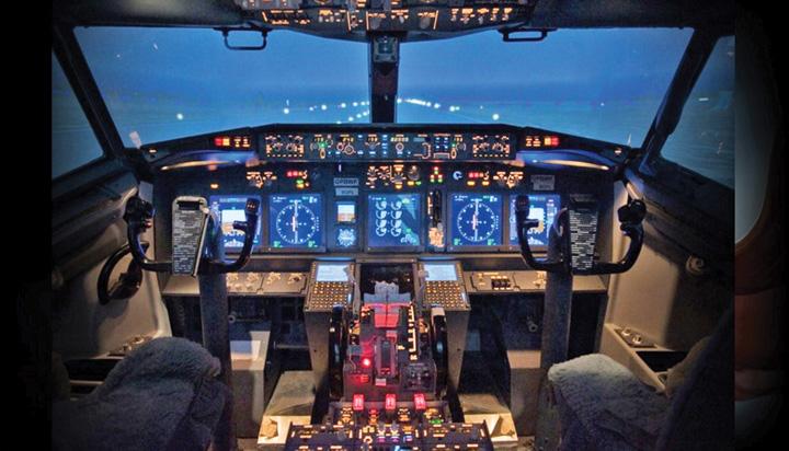 simulator boeing Primul simulator de zbor Boeing 737 din Romania