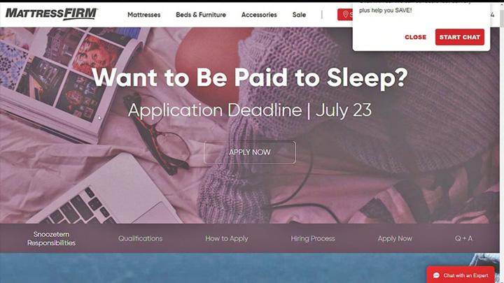 super oferta Super oferta: se cauta angajati somnorosi