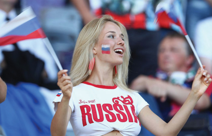 suportera 1 Rusii dau Franta castigatoare